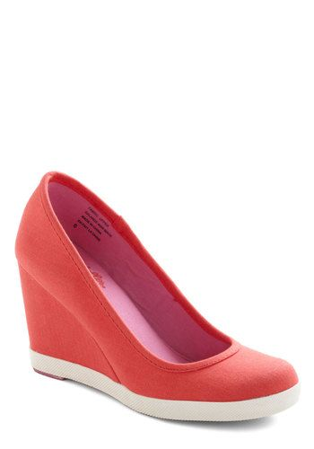 Alright with Me Wedge by Seychelles - ModCloth....I really like how casual these heels look. :)