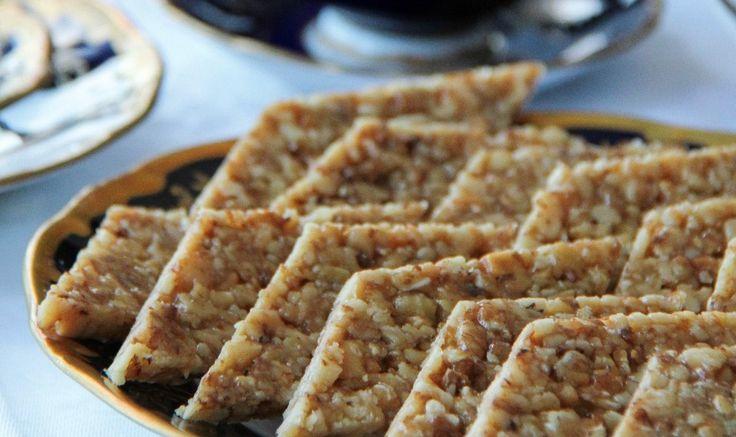 Рецепт - Gozinaxi ( козинаки ) из грецких орехов