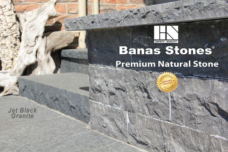 Banas Stones® Premium Natural Stone  #wallstone #pavers #coping #granite #piercaps #jumboslabs #naturalstone