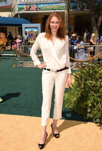 Maitland Ward attends the premiere of 'Legends Of Oz: Dorthy's Return' at Regency Village Theatre on May 3, 2014 in Westwood, California