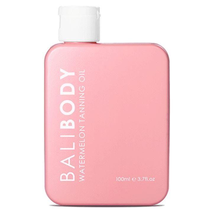 تان التسمير من بالي بودي زيت تسمير للجسم يعطي ترطيب عالي يحتوي على عامل حمايه من اشعة الشمس الضاره Spf6 النوع ال Tanning Oil Perfume Bottles Perfume