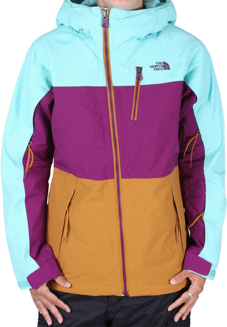 The North Face Kizamm Insulated Jacket - brook blue - Snowboard Shop > Women's Snowboard Outerwear > Women's Snowboard Jackets > Women's Insulated Snowboard Jackets