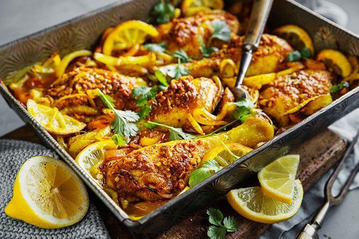 Sunn mat på koldtbordet: Kyllinglår med sitron, hvitløk og aprikos