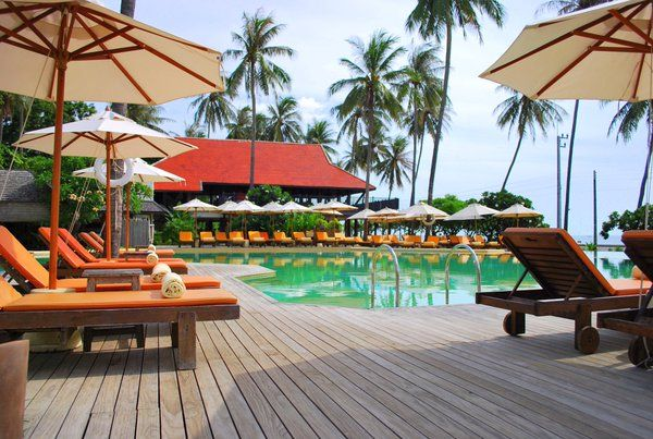Weekend spent with the pool at Evason Hua Hin