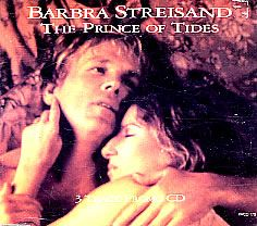 "For Sale - Barbra Streisand Prince Of Tides UK Promo  CD single (CD5 / 5"") - See this and 250,000 other rare & vintage vinyl records, singles, LPs & CDs at http://eil.com"