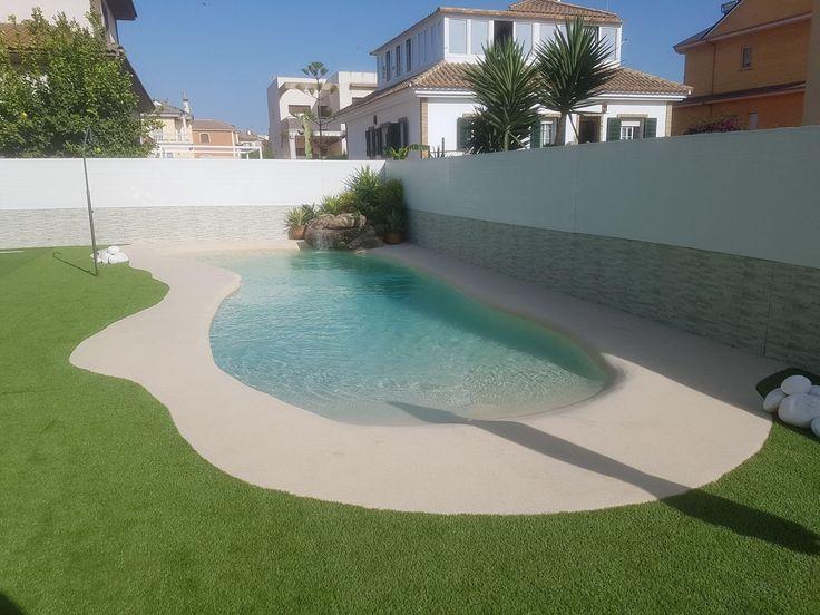 104 best viviendas con piscina de arena images on pinterest at home balcony and chili dogs - Piscinas de arena natursand ...