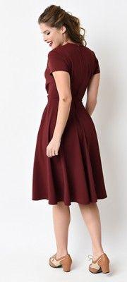 Swing Dresses - Vintage 50s Dresses for Sale | Unique Vintage