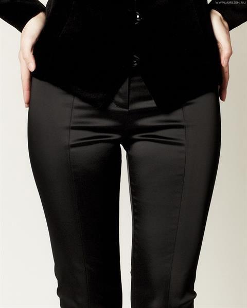 Женские атласные брюки