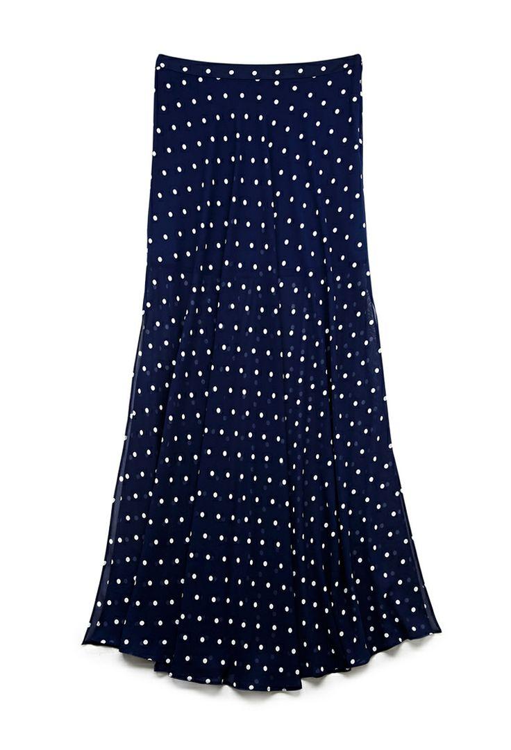 Sweet Dots Maxi Skirt
