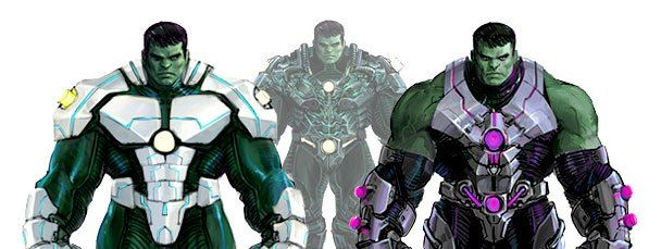 Hulk Armor - apparently it's here to stay for a while, with more armors coming