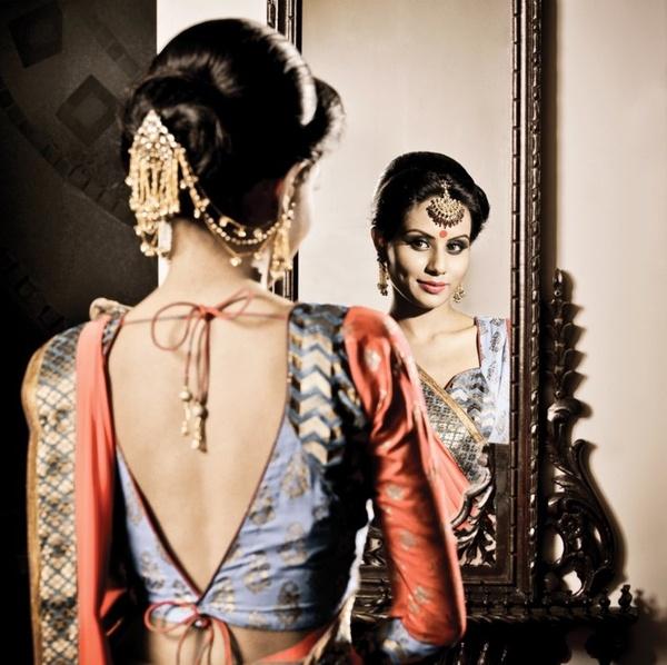 Hair jewelry, similar to jewelry worn in the Bollywood movie Devdas