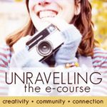 Last year, I began a journey of taking e-courses from Susannah Conway (photographer, writer, awesome e-course facilitator).  The Unravelling course started it all. Check it out...susannahconway.com