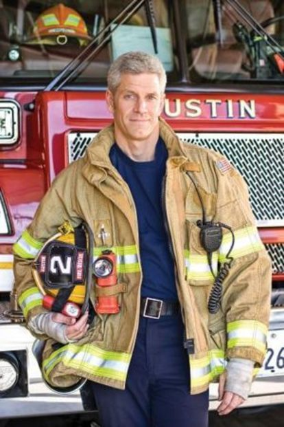 World-class triathlete turned firefighter Rip Esselstyn is used to responding to emergencies. So when he learned that some of his fellow Engine 2 firefighters in Austin, TX, were in dire physical