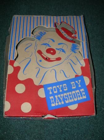icollect247.com Online Vintage Antiques and Collectables - Vintage Toys By Bayshore Toy Counter Display box Country