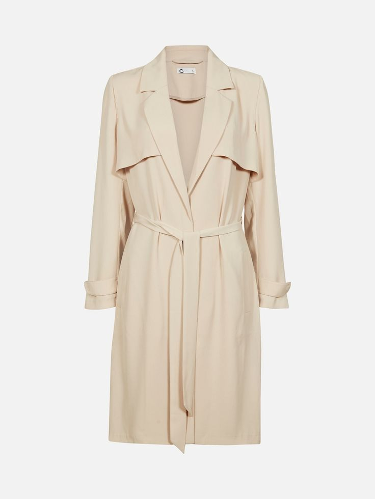 Trench | 7182655 | Beige | Cubus | Norge
