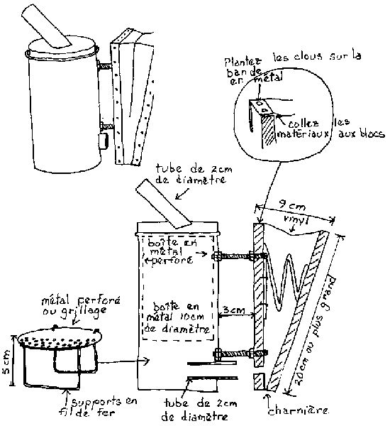 Apiculture à Petite Echelle - Plans de matériel