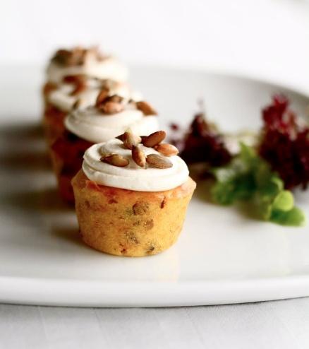 tasty #Ghermez savoury #cupcakes