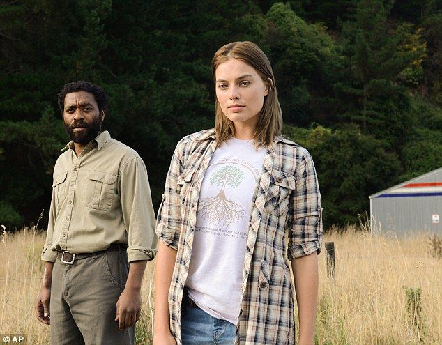 Margot Robbie in new stills from sci-fi flick Z for Zachariah #dailymail