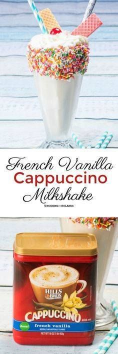 French Vanilla Cappu French Vanilla Cappuccino Milkshake by...  French Vanilla Cappu French Vanilla Cappuccino Milkshake by Noshing With The Nolands is a thick creamy refreshing treat. A delectable way to stay cool! #CappOnTheRocks #ad Recipe : http://ift.tt/1hGiZgA And @ItsNutella  http://ift.tt/2v8iUYW