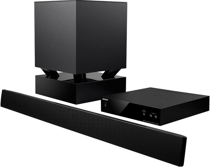 Sony Htct550w Sound Bar Home Theater System With Wireless Subwoofer Review 2 1 Ch 400w6