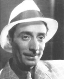 Enrique Santos Discépolo (Discepolín) (27 March 1901 - 23 December 1951) was an Argentine tango and milonga musician and composer, author of famous tangos such as Cambalache and many others performed by several of the most important singers of his time, amongst them notably Carlos Gardel.