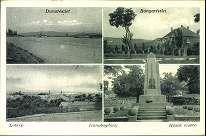 Dunabogdány; Dunarészlet; Bányarészlet; Látkép; Hősök szobra