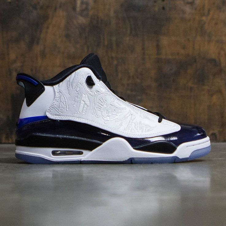 990545643b07 ... Air Jordan Dub Zero Men (white concord-black-white) ...
