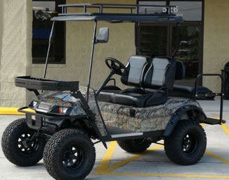 Ezgo Golf Cart Touch Up Paint Drawings Of From The Green To Woods Mossy Oak Break Camo Wrap With A Few Html on