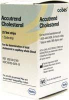 5905213312160 ACCUTREND PLUS CHOLESTEROL TEST STRIPS 25/VIAL