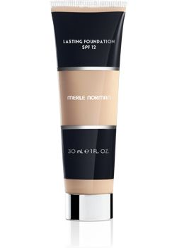 Merle Norman Lasting Foundation SPF 12. One of the best long wearing lasting foundations I have ever worn. I use a makeup remover wipe to help break it up before I wash my face. That's its staying power! It has a matte finish, but if you are oily this will help to control your excess oil. If you are dry I suggest moisturizing up or trying the Perfecting Foundation Merle Norman also offers.