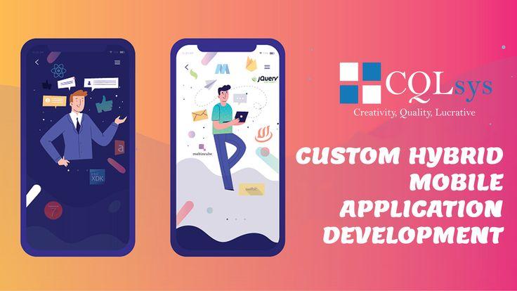 Custom Hybrid Mobile App Development