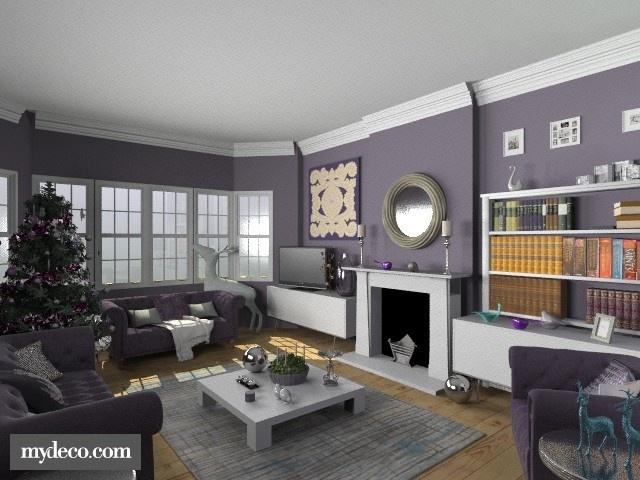 Die besten 17 Bilder zu Purple living room auf Pinterest Graue