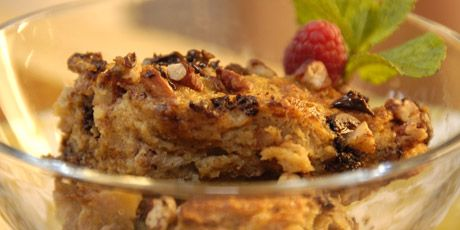 You're Pudding Me On..healthied up bread pudding