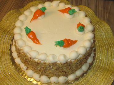 Golden Vanilla Cake Woodland Bakery