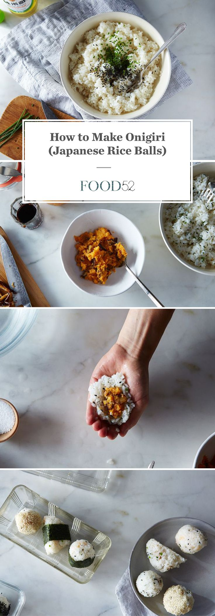 How to Make Onigiri (Japanese Rice Balls) Any Which Way