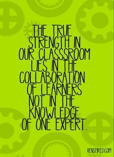 We are all learners ultimately.
