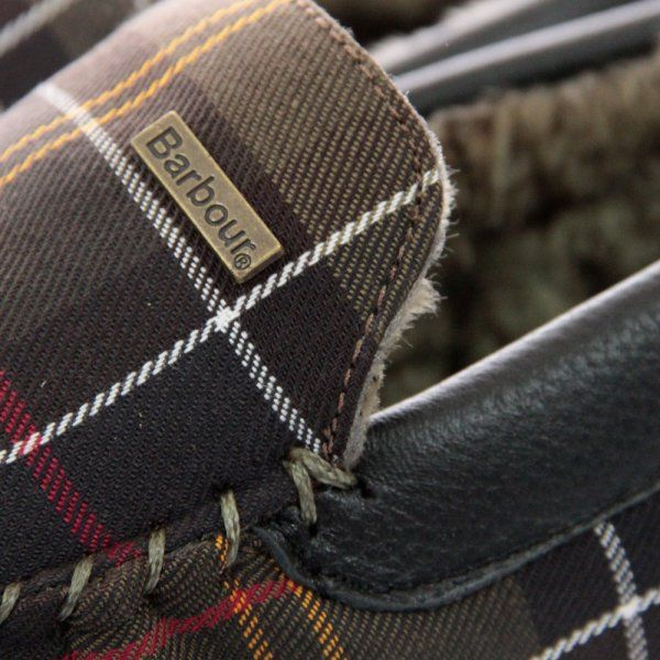 Barbour Shop UK | Monty Classic Tartan Slippers - Dandy Fellow