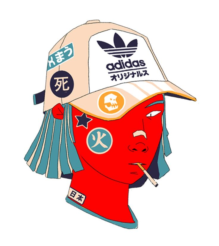 Juxtapoz Magazine - XMAU's Futuristic Hip-Hop Techno Gangsters