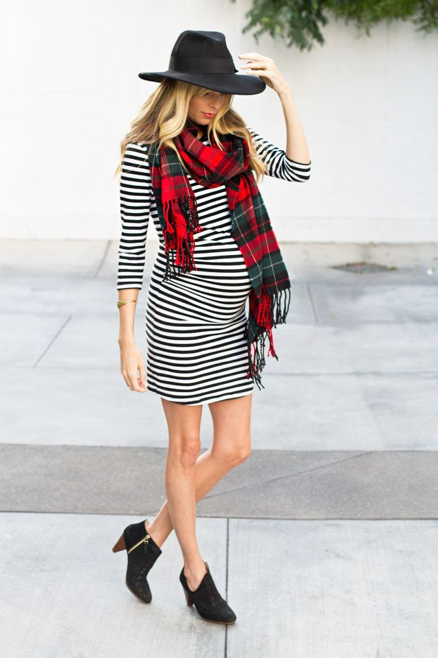 mixing stripes and plaid 2 ways // bump style // sarah sherman samuel