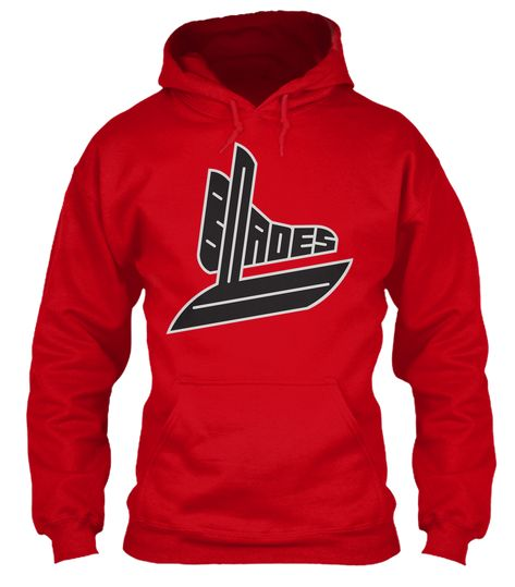Big Bad Blades is a logo of a fictional hockey team that you can use for your fantasy team. Adopt the logo and purchase some cool Blades swag so you can show off and brag.