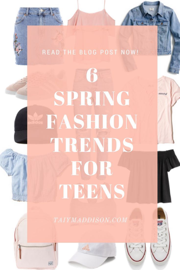 Teen Outfit Ideas, Spring Trends For Teens, Fashion For Teens, Spring, Teenage Lifestyle Blog