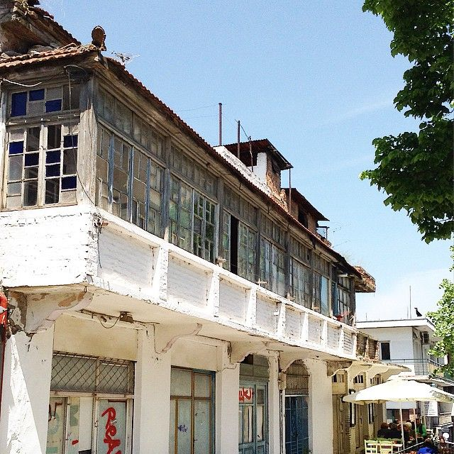 """""""#σαχνισί #architecture #old #building #αρχοντικό #Λάρισα"""""""