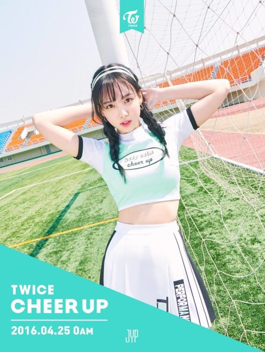 Looking Fierce Nayeon   Cheer Up Twice Photoshoot
