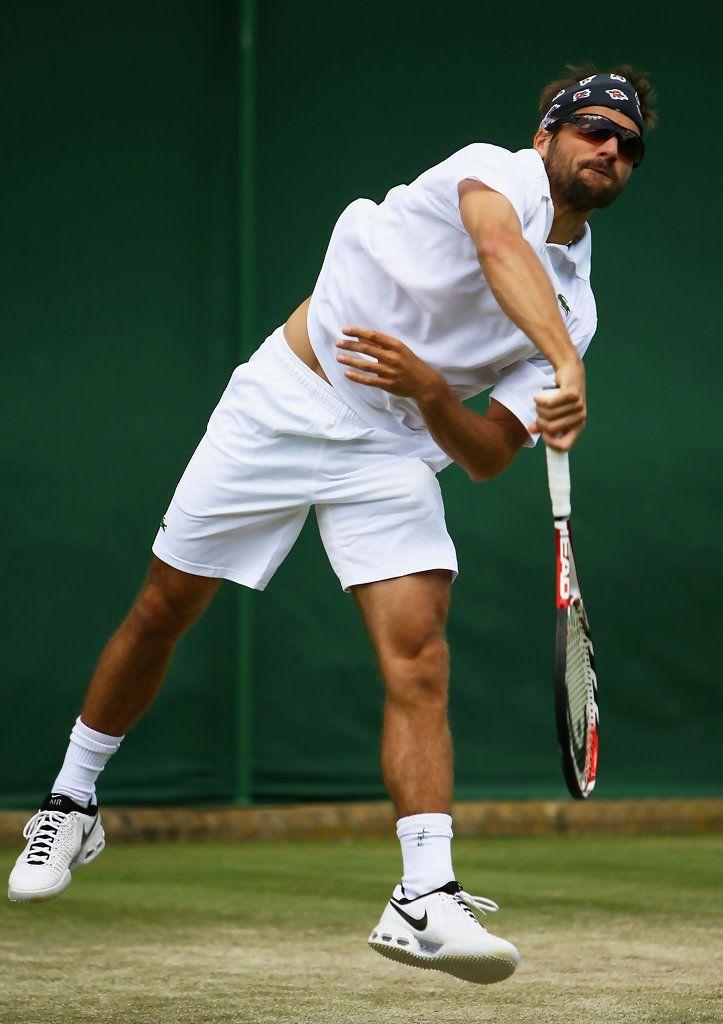 Arnaud Clement Photos: The Championships: Wimbledon 2008 - Day 4