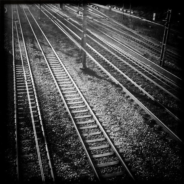 East coast main line by mattleys, via Flickr