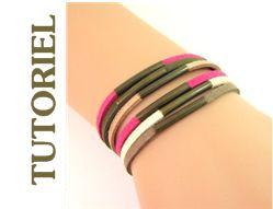 Mon bijou facile: Bracelet tubes