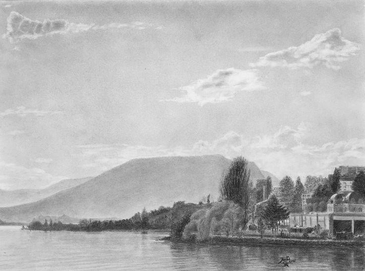 Baie de l'Evole, Lac de Neuchâtel (Suisse)