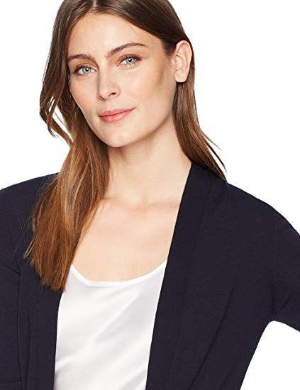 Lark   Ro Women s Lightweight Long Sleeve Long Cardigan Sweater  Clothing d12e72602