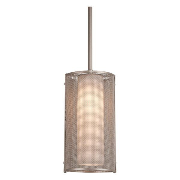 You Ll Love The Uptown Mesh 1 Light Single Cylinder Pendant At Perigold Enjoy White Glove Delivery Glass Diffuser Decorative Lighting Design Hammerton Studio