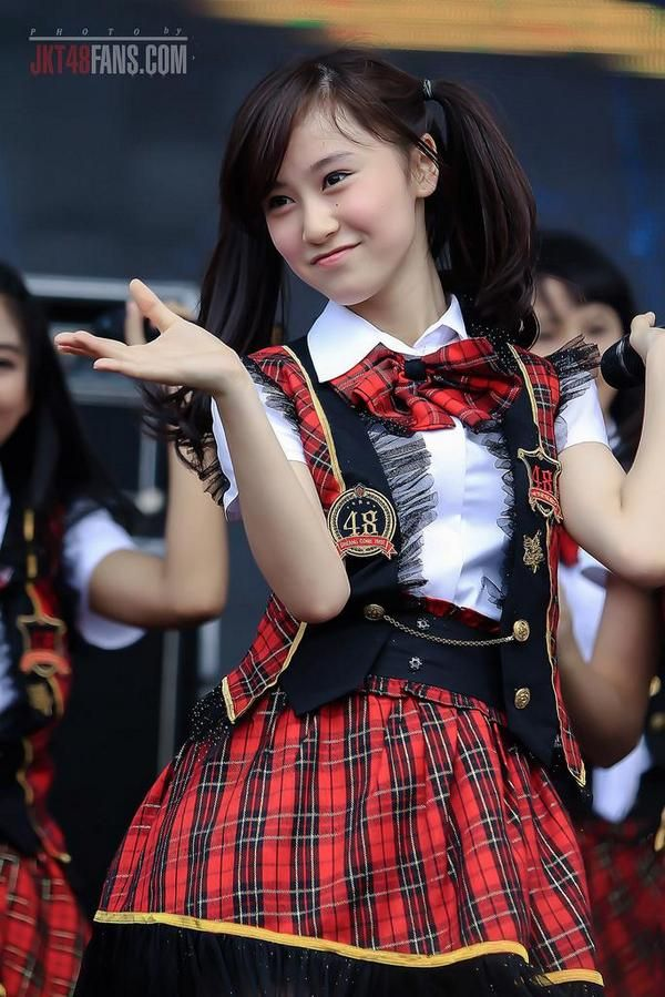 Michelle Christo JKT48 team 3 at HAI day
